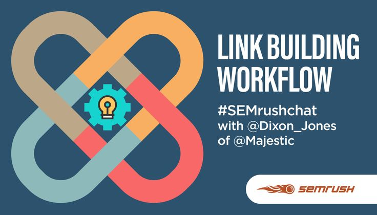 Link Building Workflow #semrushchat  ||  Our latest SEMrush Chat was special because we dedicated it to some big changes to our Backlink Audit Tool. Recently SEMrush and Majestic combined forces to increase the scope of links that users are auditing. During the chat, our special guest Dixon... https://www.semrush.com/blog/link-building-workflow-semrushchat/?utm_campaign=crowdfire&utm_content=crowdfire&utm_medium=social&utm_source=pinterest