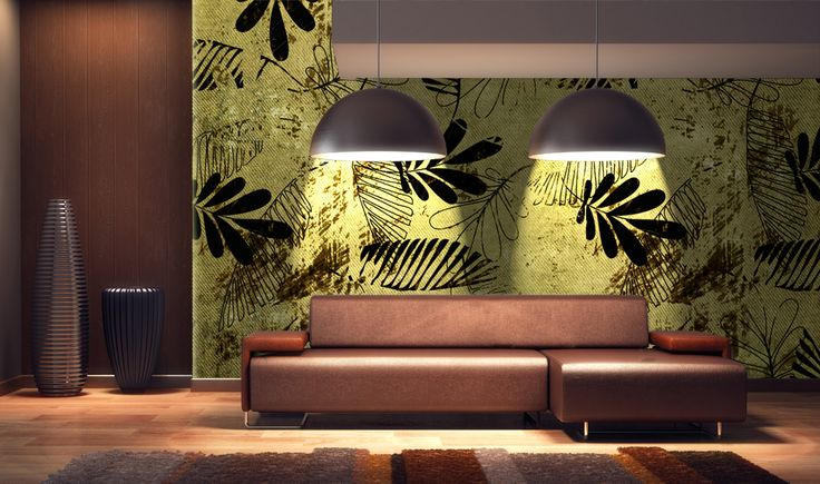 Tropicana > Collezione Wild Crea un paradiso tropicale con la magia della carta da parati Tropicana. #wallpaper #mycollection #room #colour #design #home #office #living #wild