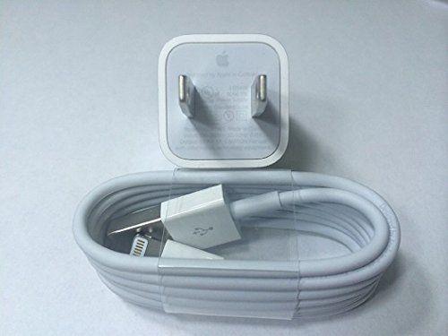 Sale Preis: New 100% Original Genuine Apple OEM Iphone 5 5s Lightning USB Data Cable & Wall Charger. Gutscheine & Coole Geschenke für Frauen, Männer und Freunde. Kaufen bei http://coolegeschenkideen.de/new-100-original-genuine-apple-oem-iphone-5-5s-lightning-usb-data-cable-wall-charger