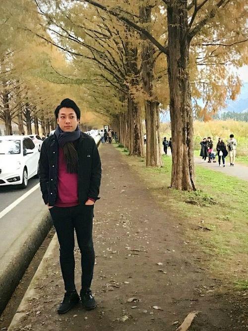こんばんは(^ー^) 週末の1枚です。 メタセコイア並木というところに行きました!が、しかし、紅葉で