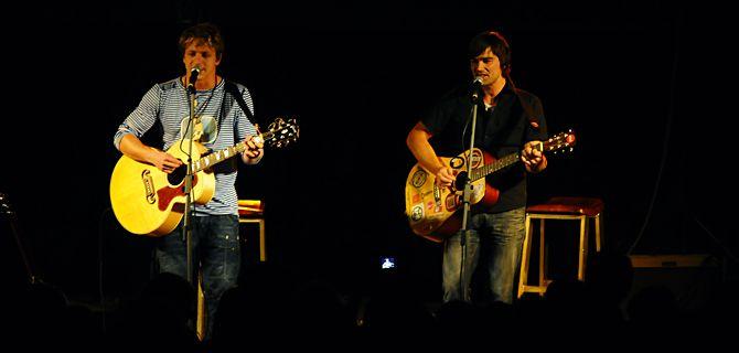 Tomáš Klus and Jiří Kučerovský - concert