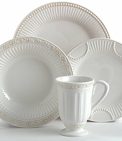 Everyday dishes - mix of patterns from Lenox Butlers Pantry & 85 best My products for Lenox images on Pinterest | Butler pantry ...