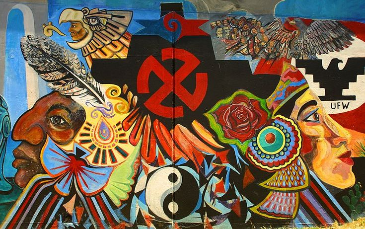 310 best images about latino history on pinterest for Chicano mural art