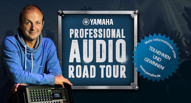 Yamaha Pro Audio Road-Tour 2016:  Wertvolles Wissen rund um Beschallung - http://www.delamar.de/events/yamaha-pro-audio-road-tour-2016-34981/?utm_source=Pinterest&utm_medium=post-id%2B34981&utm_campaign=autopost