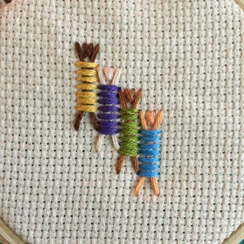 Badass Cross Stitch — Week 32 of the #YearOfStitch : Stick People Stitch