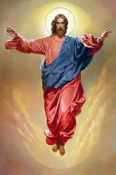 Jesus Ascension to Heaven     ....then He ascended into heaven and disappeared in the clouds.      Acts 1:9-11