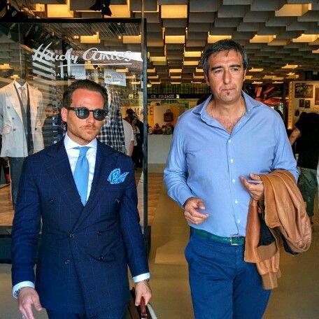 Pitti Uomo with Massimo Pirrone