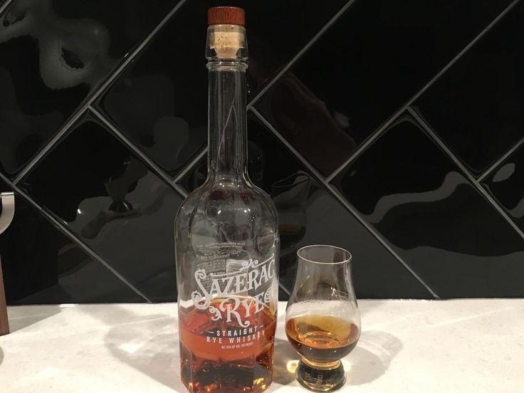 Review #18  Sazerac Rye (aka Baby Saz) #bourbon #whiskey #whisky #scotch #Kentucky #JimBeam #malt #pappy