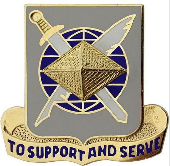 Army Finance Regimental Corps Crest