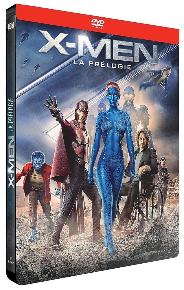 X-Men - La Prélogie : X-Men : Le commencement + X-Men : Days of Future  DVD NEUF