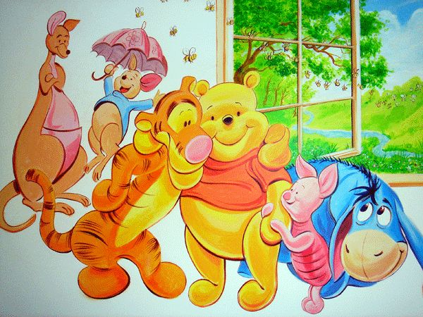 23 best winnie the poogh images on pinterest pooh bear eeyore and disney images - Winnie the pooh and friends wallpaper ...