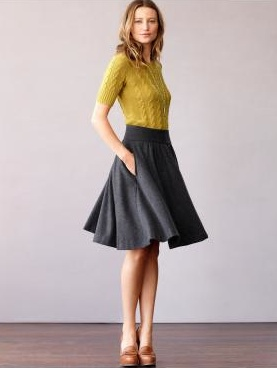 I want an A-Line skirt like this for the office, thinking of making one...