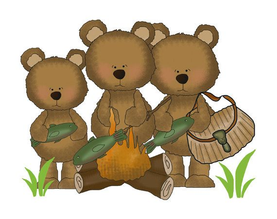 FISHING TEDDY BEAR Decal Wall Art Mural Nursery Woodland Stickers Baby Girl Boy Forest Animal Creatures Kids Hunting Campfire Room Decor #decampstudios