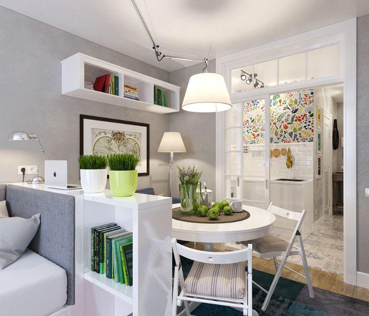 compact 25-square-meter studio apartment