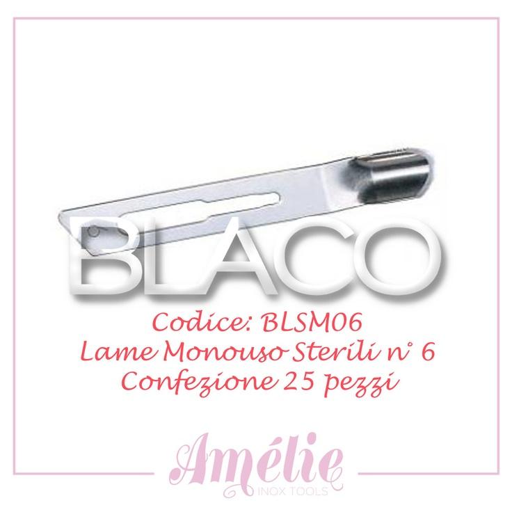 Amelie inox tools sgorbia box 25pz num. 6