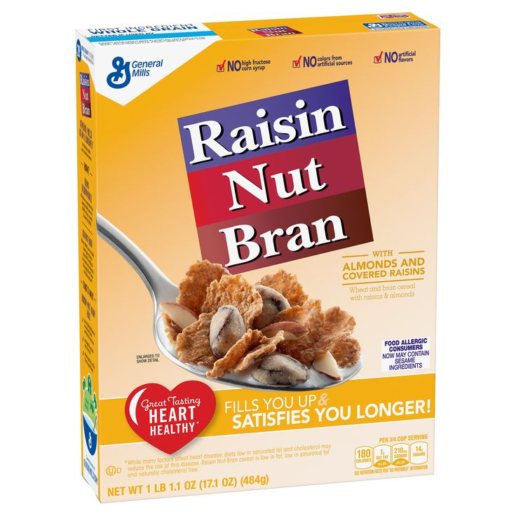 Raisin Nut Bran Cereal - 17.1 oz - General Mills