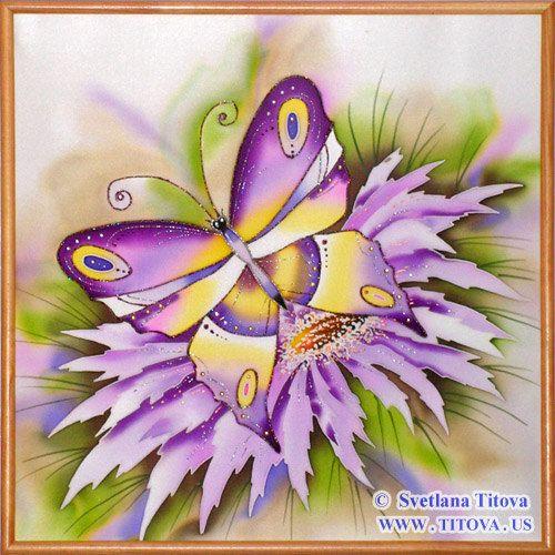 Original Silk Painting by Svetlana Titova. от MagicSilkPainting