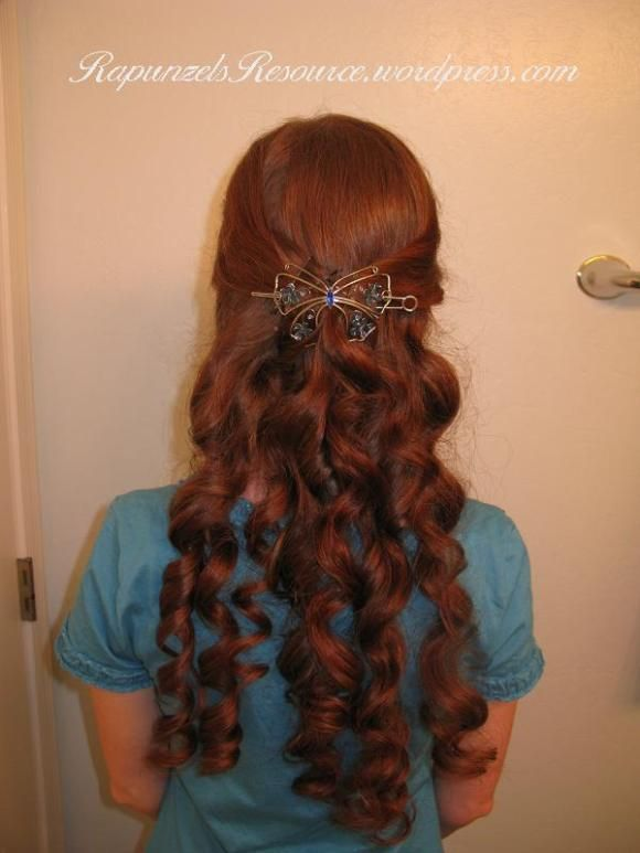 Bandana Curls or Rag Curls for Long Hair | Rapunzel's Resource