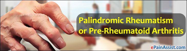 Palindromic Rheumatism