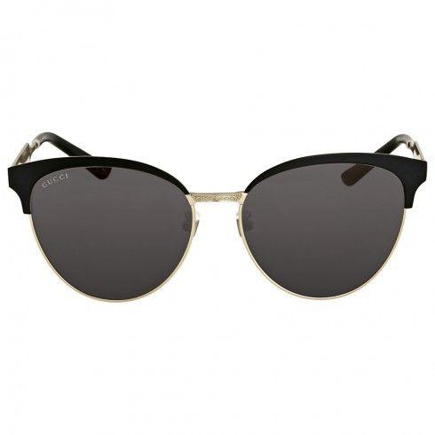 2c71d28c471 Gucci Black Metal Sunglasses - Gucci - Sunglasses - Jomashop