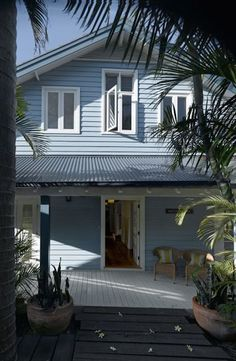 weatherboard house rear deck entertaining - Google Search
