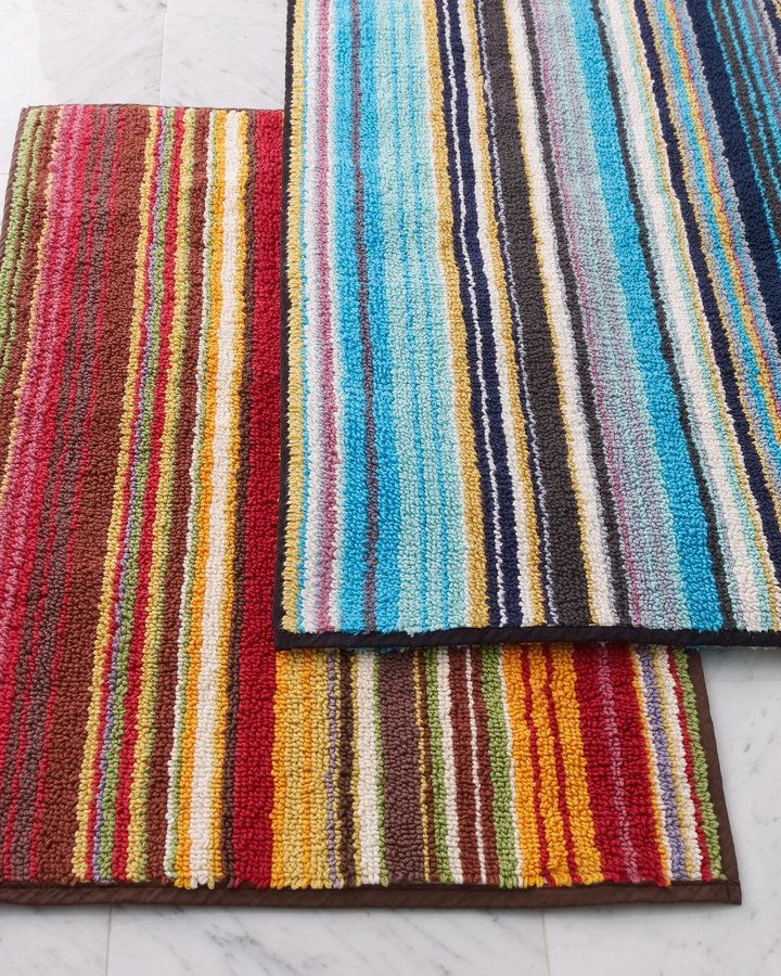 Best Rug Images On Pinterest Bath Rugs Bathroom Ideas And - Missoni black and white bath mat for bathroom decorating ideas
