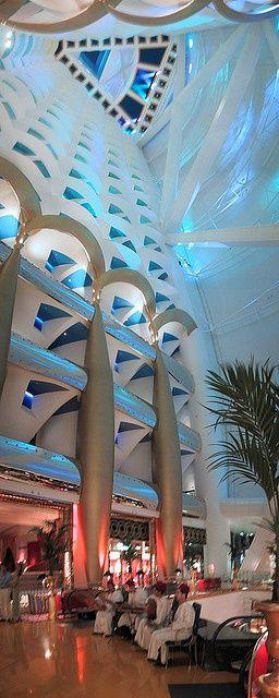 ღღ Burj Al Arab luxury hotel in Dubai, United Arab Emirates • photo: Raphael Bick on Flickr