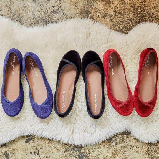 f3aa6de4531 Comfortable Flats for Wide Feet Bunions  Easy Spirit Gessica