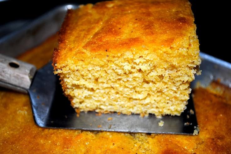 Honey Hush Cornbread from Dinosaur BBQ via clairebakescakes Cornbread Dinosaur_BBQ