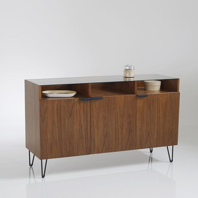 Buffet vintage, 3 portes, 3 niches, Watford  http://www.homelisty.com/reduction-la-redoute-interieurs-color-days/