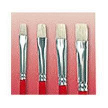 """WOOSTER BRUSH COMPANY F1622-3 OIL BRIGHTS ARTIST BRUSH #3 (PACK OF 6) by WOOSTER BRUSH COMPANY. $15.51. White bristle, red handle. For oils and acrylics. No. 3. """"WOOSTER BRUSH"""" OIL BRIGHTS ARTIST BRUSH  White bristle, red handle  For oils and acrylics  No. 3"""