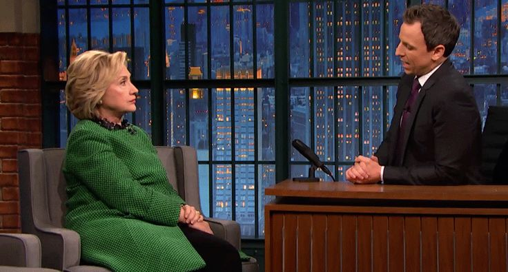 Hillary Clinton tells Seth Meyers: Donald Trump is no longer funny — he's dangerous