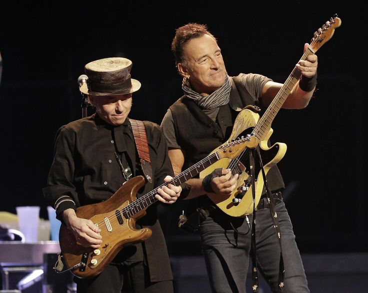 Years by Springsteen's side a gift for guitarist Nils Lofgren