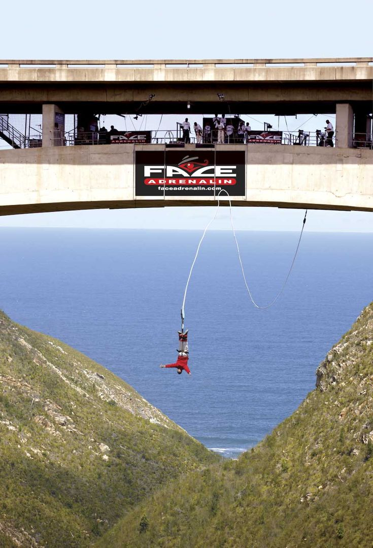 Jump off one of the world's tallest bungee bridges, Bloukrans Bridge, while staying at Conrad Pezula.