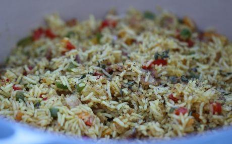 7-Colour Rice Recipe by Siba Mtongana