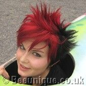 I love this, so maybe for the Fall & Winter? :Special Effects Hair Dye Blood Red (over faded Virgin Rose):