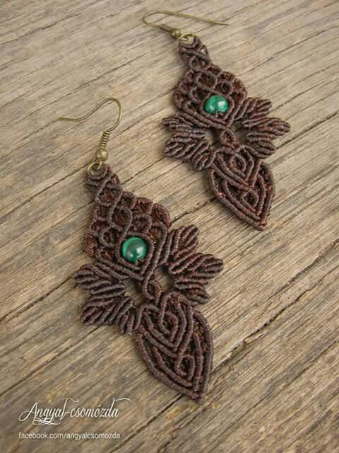 Macrame earrings                                                       …