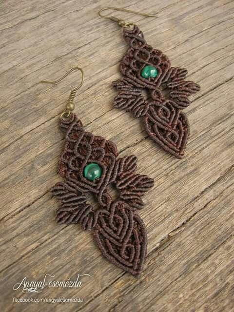 Macrame earrings                                                       …