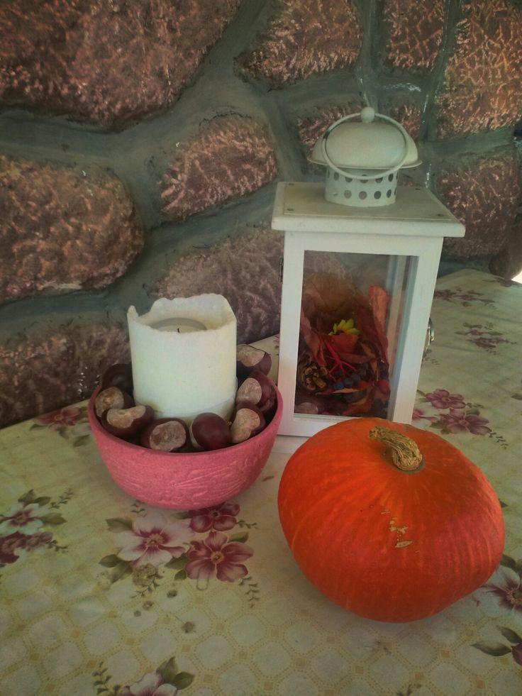 My autumn-style teracce