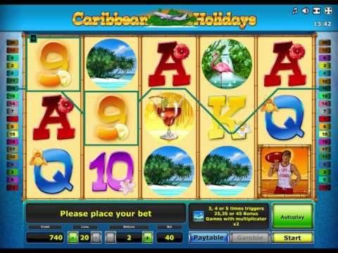 Онлайн игровой автомат Карибские каникулы (Caribbean Holidays)