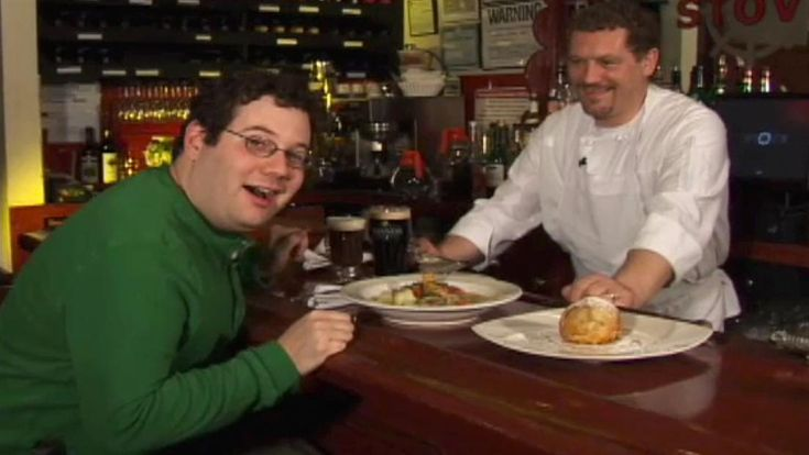 Famous Fat Dave gets a hands-on history of a traditional St. Patrick's Day food: classic Irish stew.