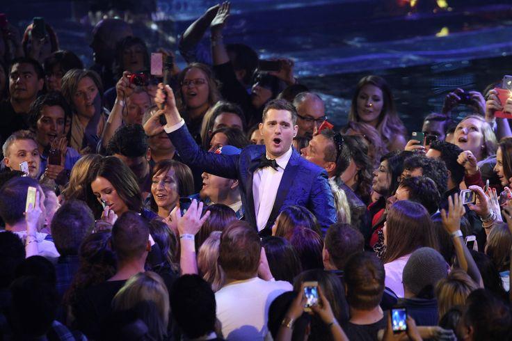 2013 JUNO Awards host Michael Buble  - photo credit: CARAS/iPhoto