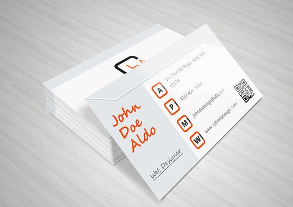 Check out Clean Corporate Business Card by NicuB on Creative Market