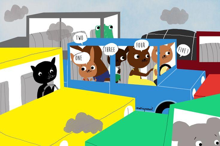 Un petit Jeu à faire avec ses enfants : Le jeu des voitures pour apprendre l'anglais en s'amusant ! D'autres jeux pour partager du bon temps avec vos enfants ? Téléchargez la Bubble App ! http://www.bubblemag.fr/telechargez-la-bubble-app/