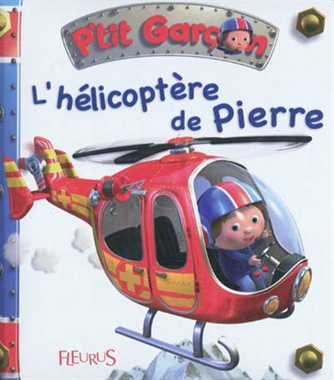 Avec son hélicoptère, Pierre va secourir un skieur et un alpiniste en montagne.