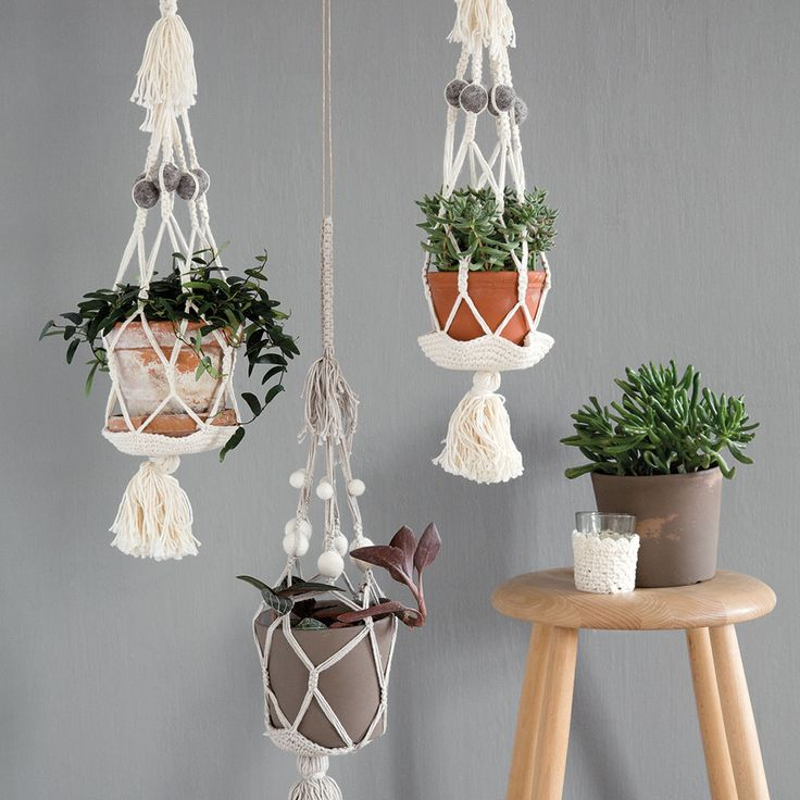 Flower Pot Holder from Én Gry & Sif <3