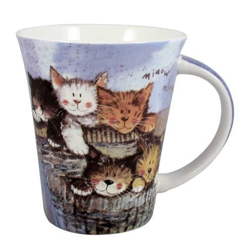 Alex Clark Kittens Mug Amazon.co.uk Kitchen & Home Кот