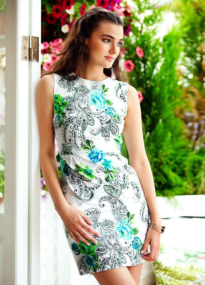Merve Büyüksaraç Elbise Markafoni'de 87,00 TL yerine 34,99 TL! Satın almak için: http://www.markafoni.com/product/4463923/ 456258den