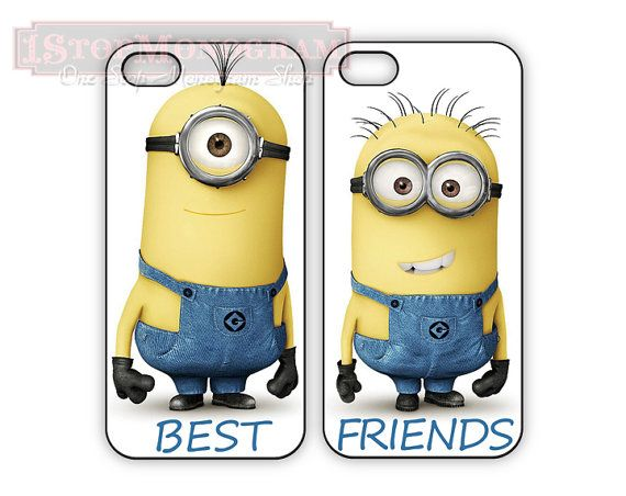 despicable me Best Friend cases for iPhone or by 1stopmonogram, $32.00