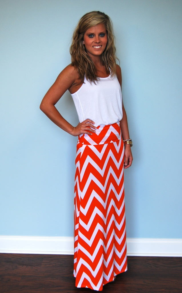 17 Best ideas about Chevron Maxi Skirts on Pinterest | Modest ...